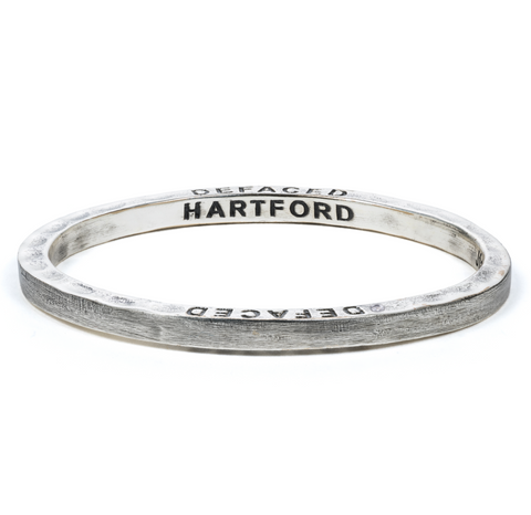 Steel Bangle with 1 Diamond Hartford