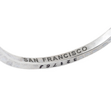 Steel Bangle San Francisco