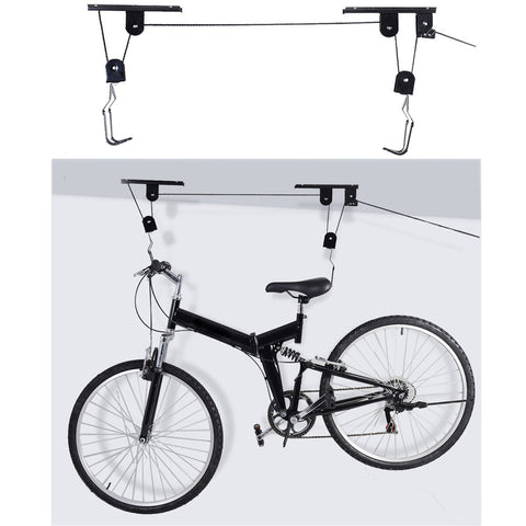 Bicycle Lift Storage Rack
