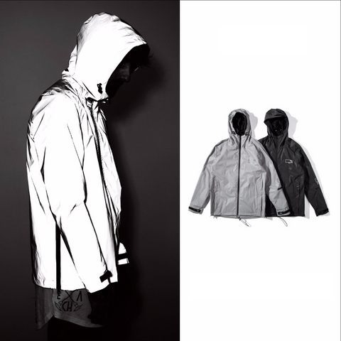 Reflective Cycling Casual Windbreaker Jacket