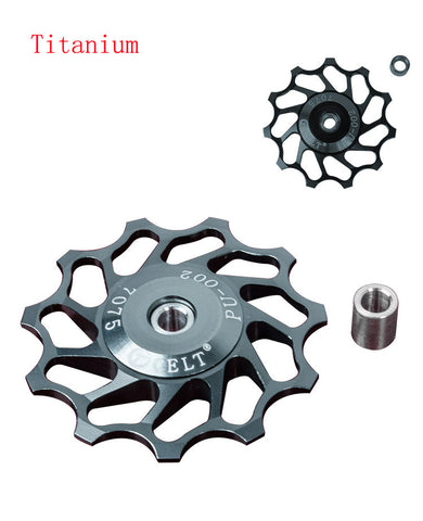 Shimano SRAM Ceramic Bearing Aluminum Alloy Jockey Wheel