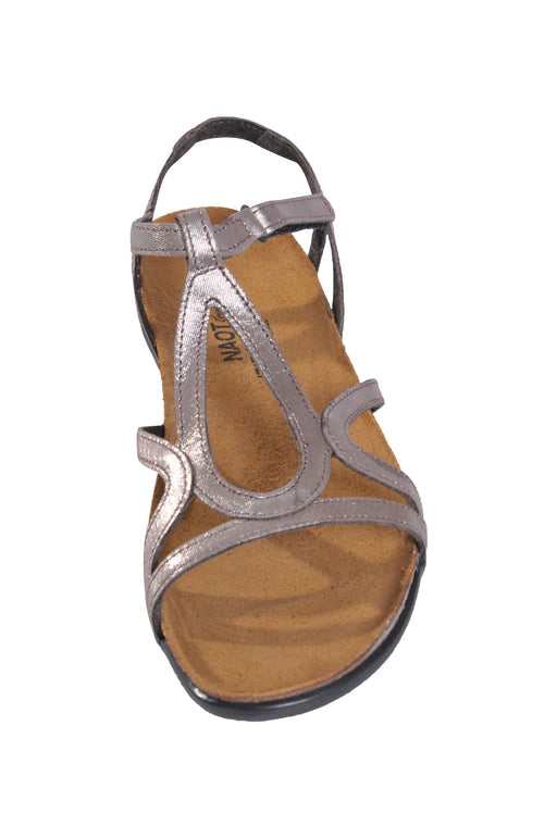 Naot Dorith flat gladiator sandals (silver)