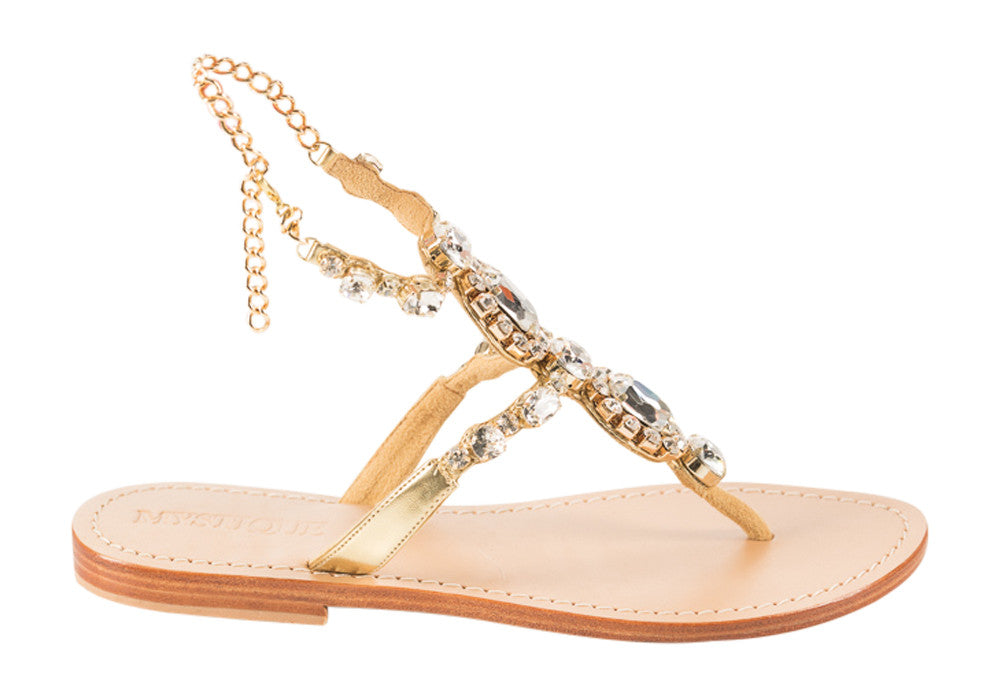 Mystique Brussels flat sandals