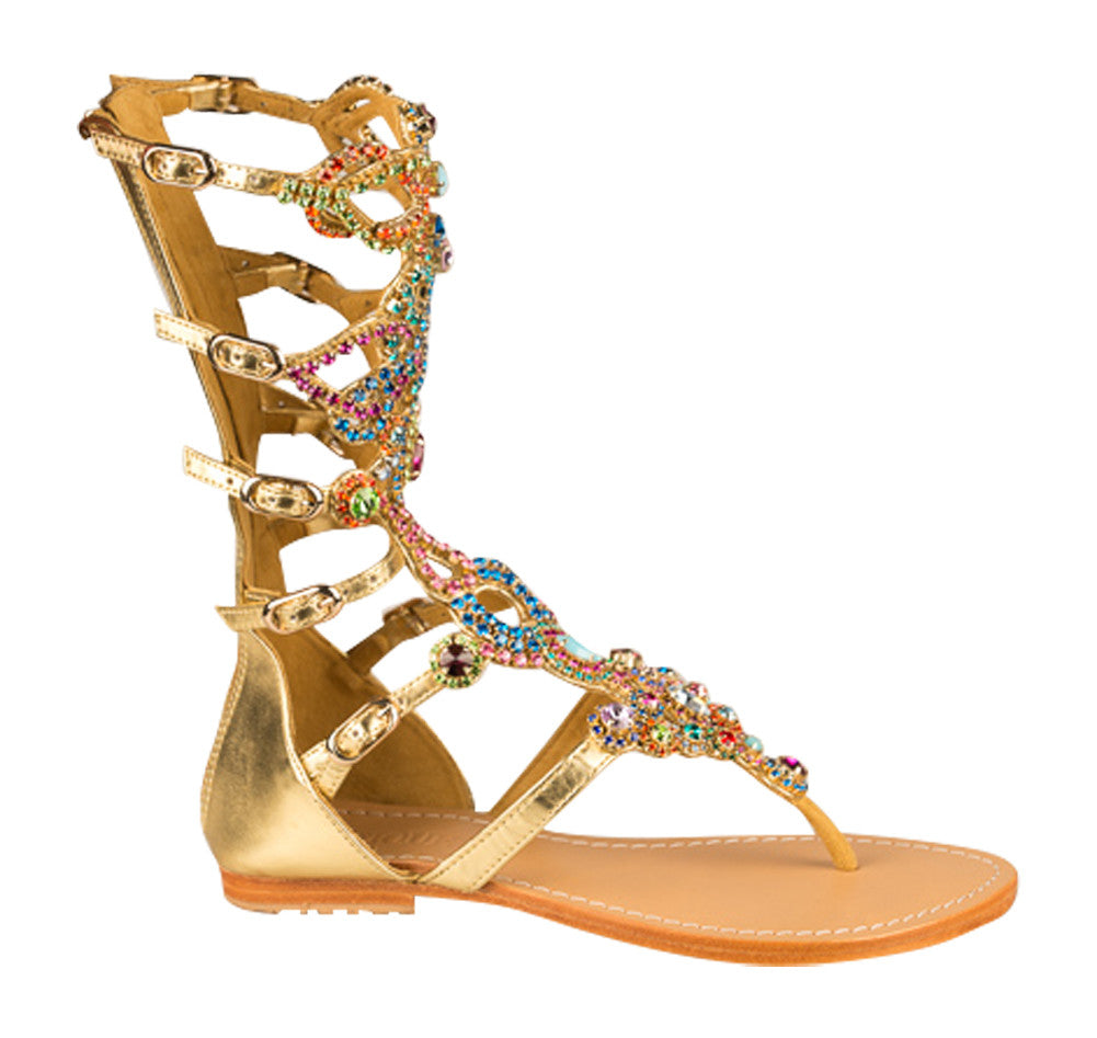 Mystique South Beach Gladiator flat sandals