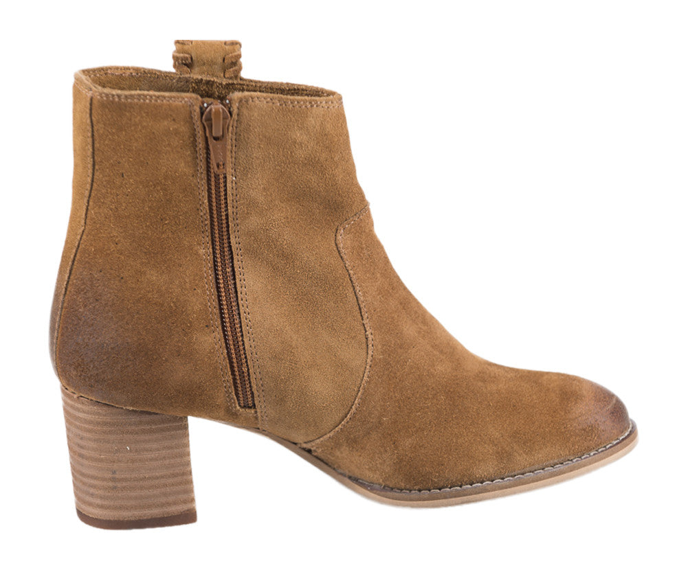 Naughty Monkey Sangeeta Ankle Bootie (Tan)