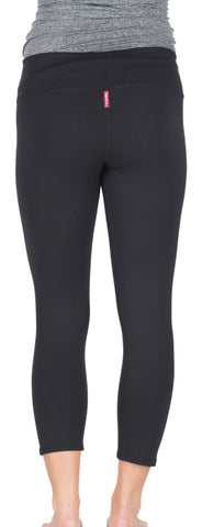 Hard Tail supplex flat waist capri