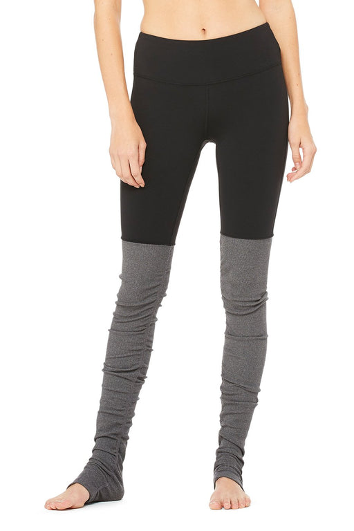 Alo Yoga Goddess leggings (Black/stormy)