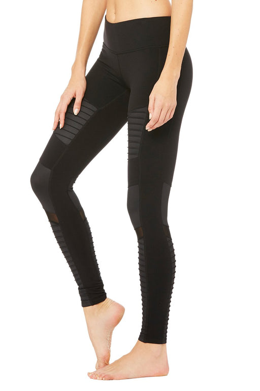 Alo Yoga Women's Moto Legging (black)