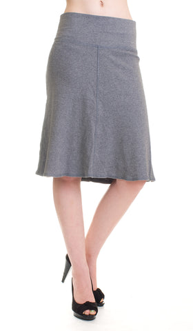 Hard Tail roll down A-line knee length skirt (Available in 4 colors!)