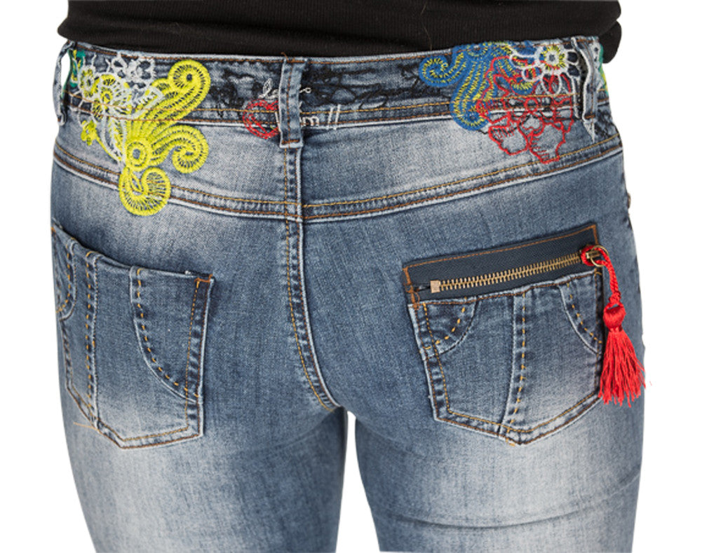 Desigual Donato skinny jeans - up to size 32,33,34