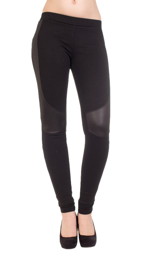 Evleo Vegan leather leggings
