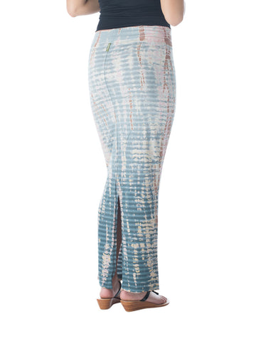 Hard Tail organic cotton & bamboo pastel maxi skirt