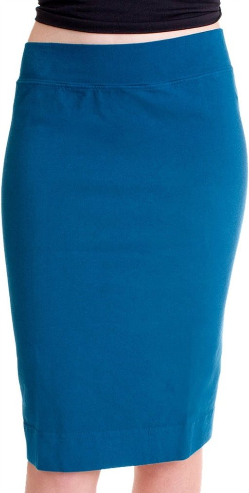 Hard Tail Pencil knee Skirt - Royal Blue