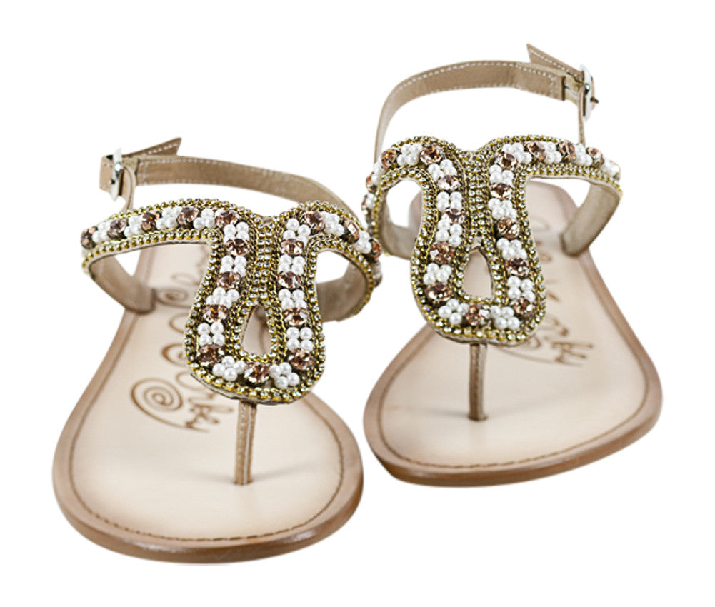 Naughty Monkey Festival Fairy flat sandals