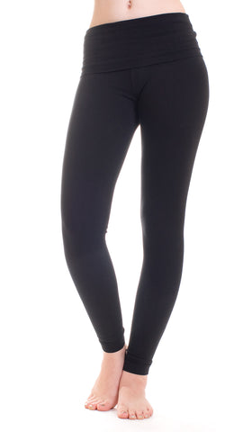 Hard Tail roll down leggings (w338)