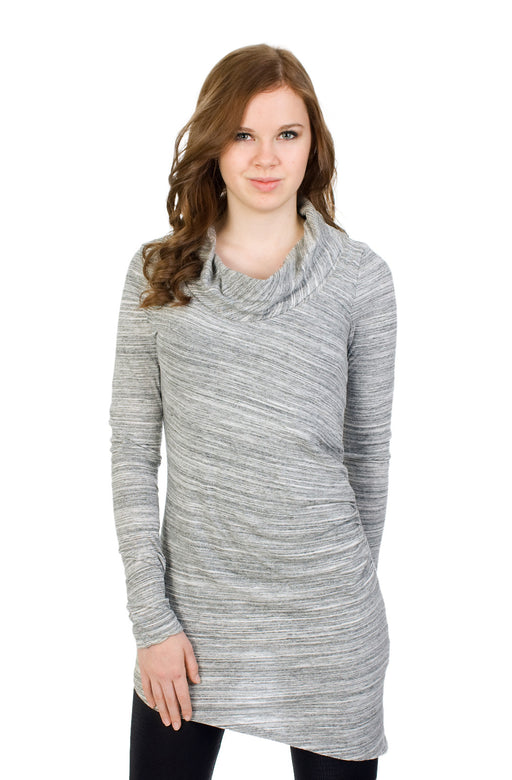 Hard Tail Double Drape Tunic