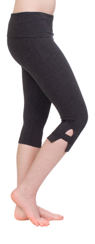 Hard Tail side slinger rolldown capri pants- 4 colors available!