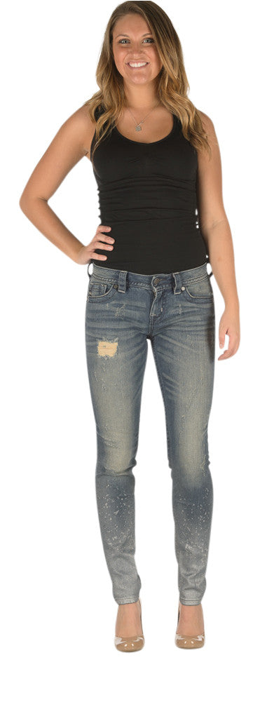 Miss Me Cali Dream skinny jeans - up to extended size 33