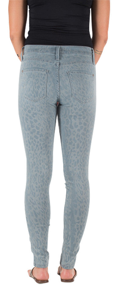 James Jeans Twiggy 5 pocket legging in teal cougar ‰Û_