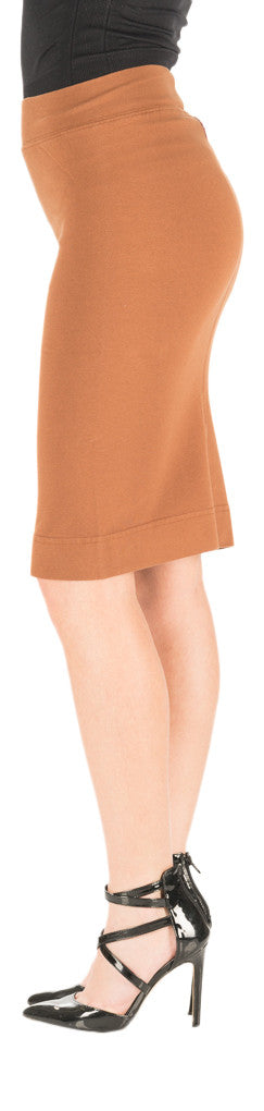 Hard Tail skinny knee pencil skirt (hickory)