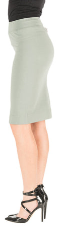 Hard Tail skinny knee pencil skirt  (juniper)