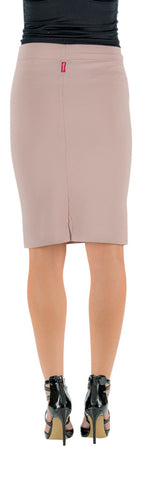 Hard Tail skinny knee pencil skirt ( dusty pink)