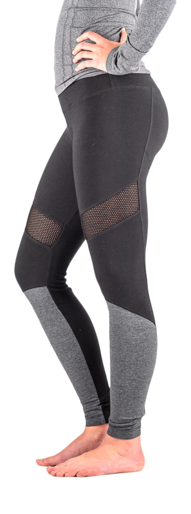 Hard Tail Athletic 2 tone warmer leggings