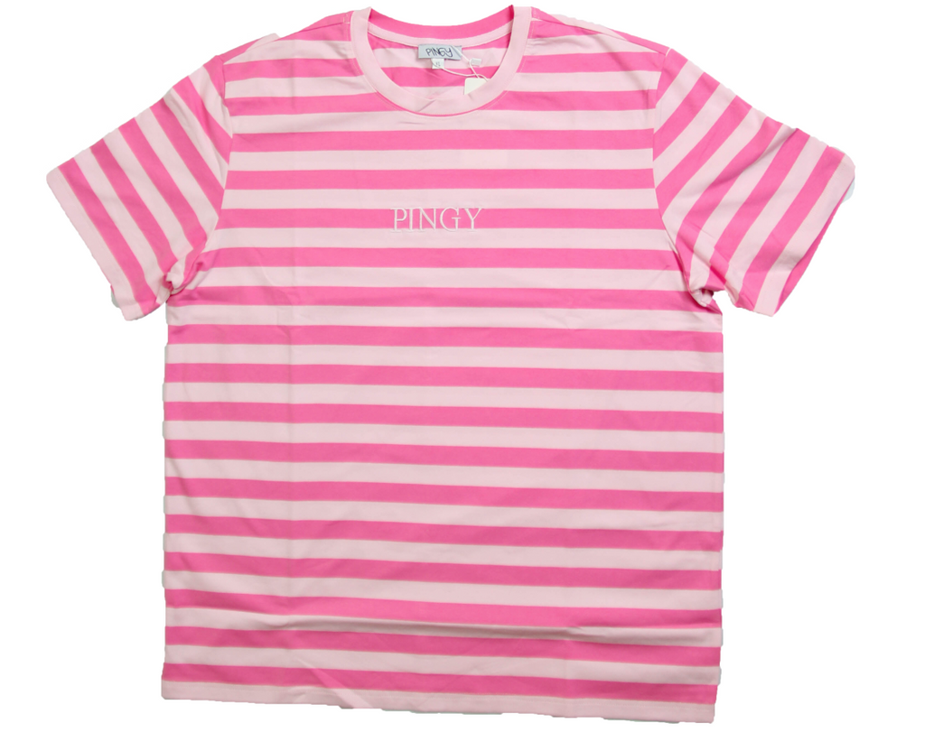 PINK/PINK STRIPED SHIRT