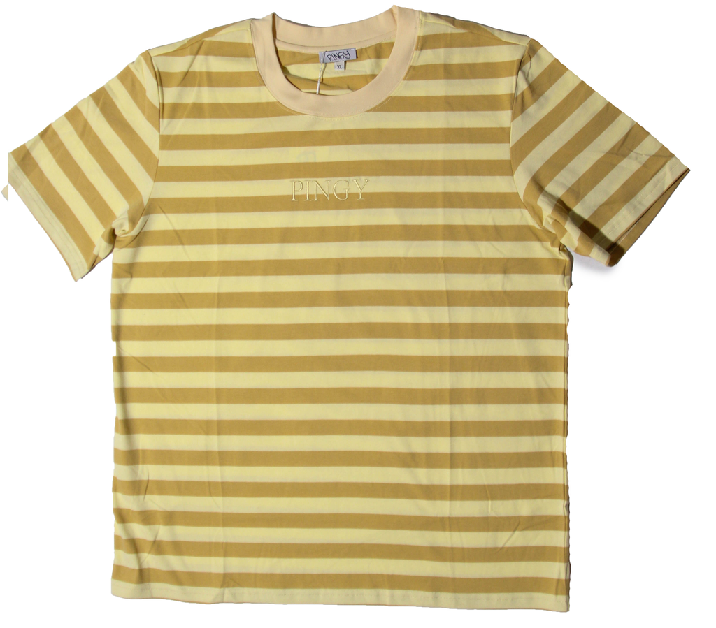 CREAM/BIEGE STRIPED SHIRT
