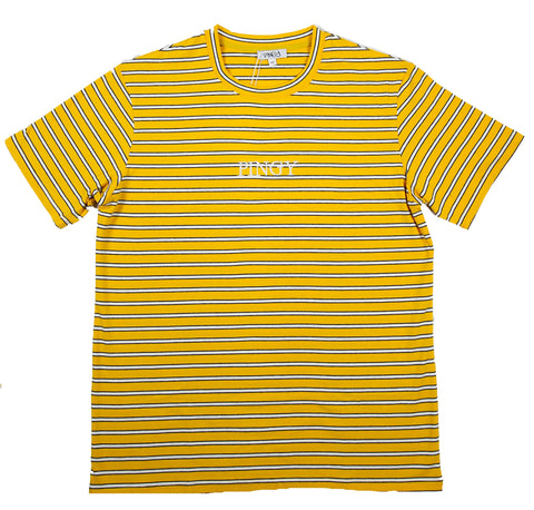 MUSTARD TRIPLE STRIPE