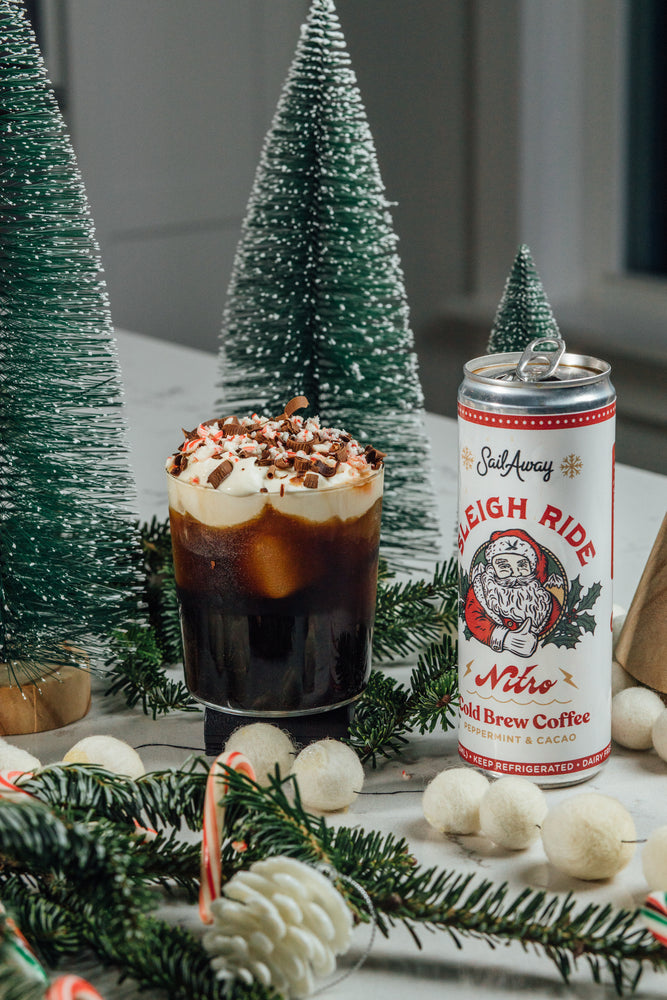 Sail Away Cocktails: The Nitro Blitzen