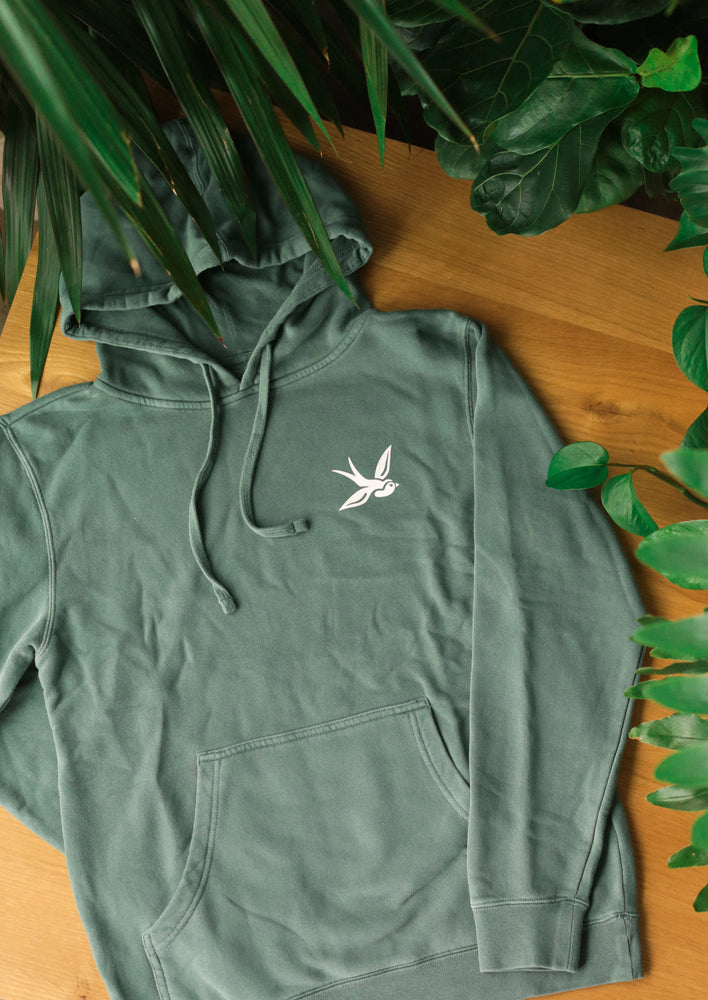 Load image into Gallery viewer, The Classic Hoodie (Sage Green)