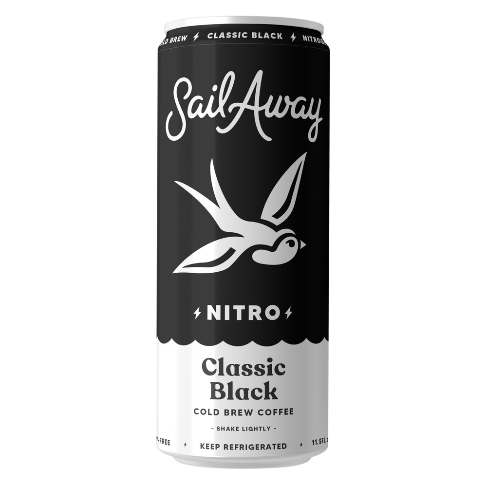 Load image into Gallery viewer, Nitro Cold Brew Coffee (Classic Black)