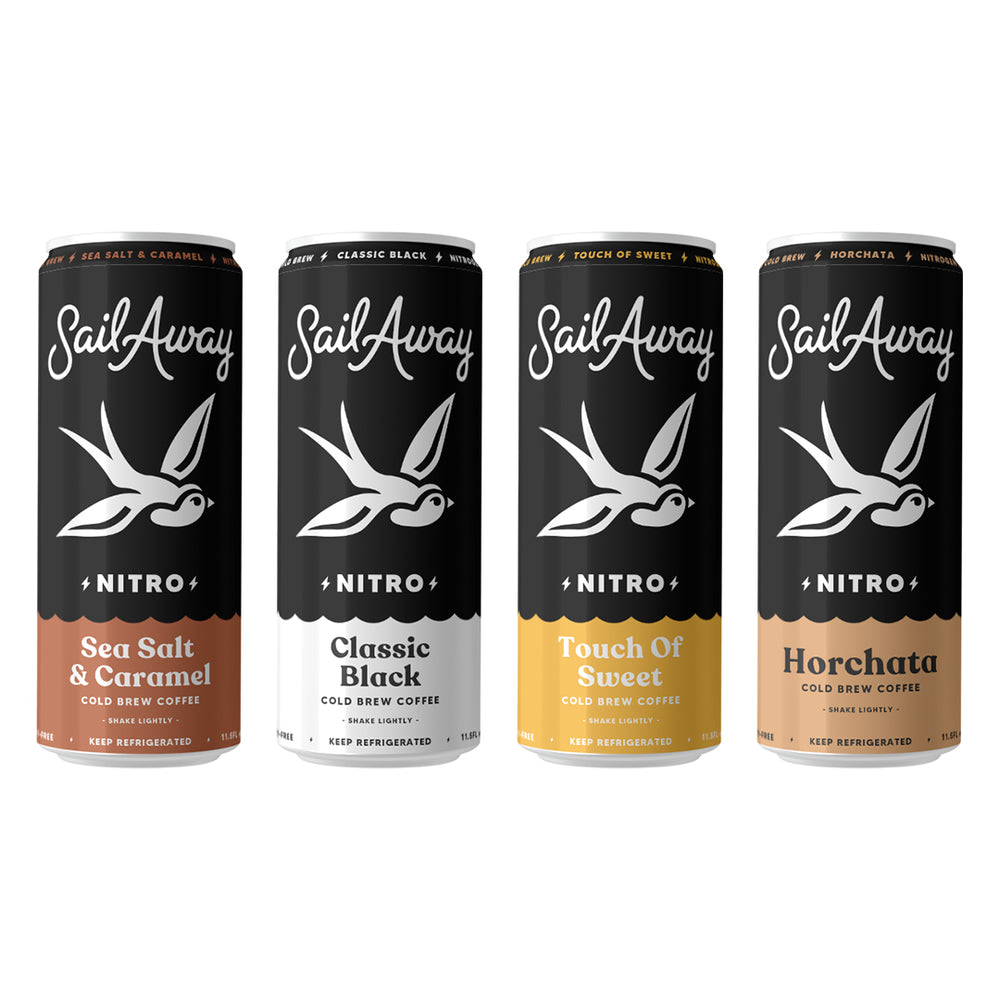 Nitro Cold Brew Coffee (Variety Pack)