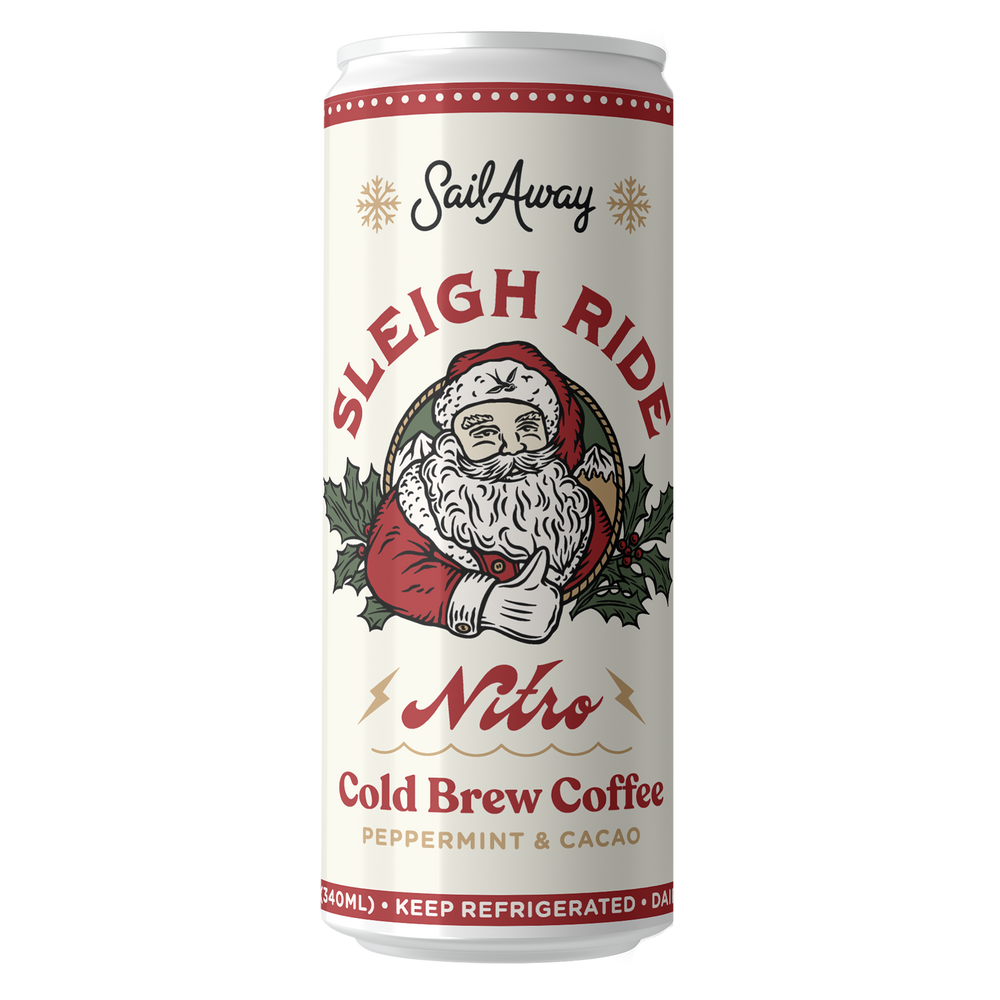 Nitro Cold Brew Coffee (Limited Edition: Sleigh Ride)