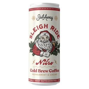 Load image into Gallery viewer, Nitro Cold Brew Coffee (Limited Edition: Sleigh Ride)