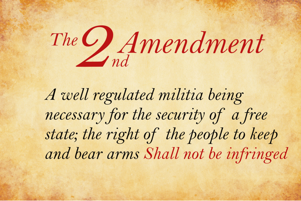The Second Amendment of The American  Constitutions