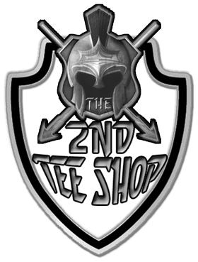 The 2nd Tee Shop Logo blk n wht