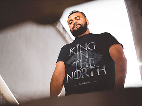 The King In The North Men's Short Sleeve T-Shirt - The 2nd Tee Shop Tees