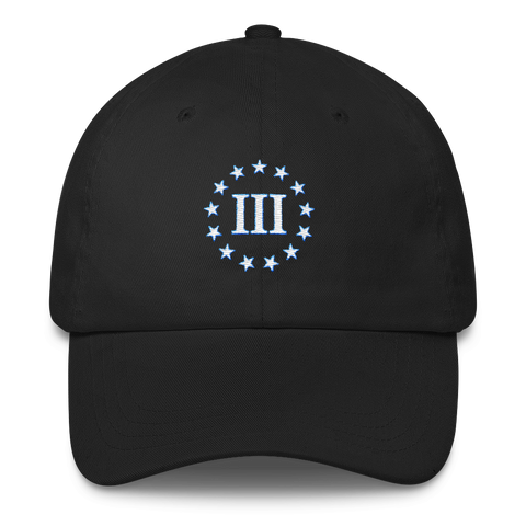 The Three Percenters Classic Dad Cap - The 2nd Tee Shop