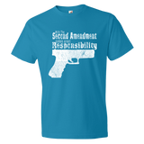 With The Second Amendment Comes Great Responsibility - The 2nd Tee Shop