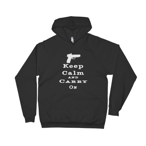 Keep Calm and Carry On Unisex Hoodie - The 2nd Tee Shop