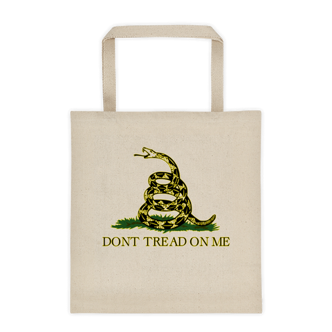 Don't Tread On Me Tote bag - The 2nd Tee Shop