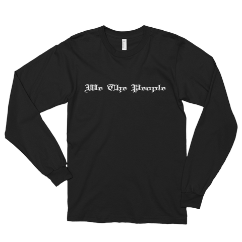 We The People Long Sleeve Tees White - The 2nd Tee Shop
