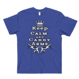 Keep Calm And Carry Arms Men's T-Shirt - The 2nd Tee Shop