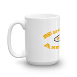 Second Amendment Mug with Yellow Text - The 2nd Tee Shop