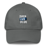Back the Blue - The Thin Blue Line Cotton Cap - The 2nd Tee Shop Hats