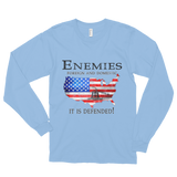 It Is Defended Long Sleeve Tees - The 2nd Tee Shop