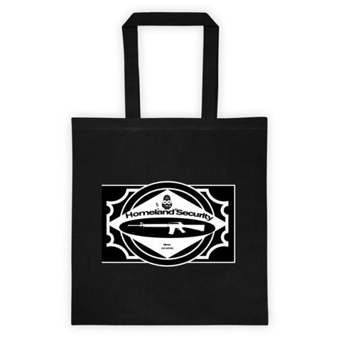 Homeland Security Cotton Canvas Tote bag - The 2nd Tee Shop
