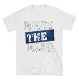 Back The Blue - The Thin Blue Line Men's T-Shirt - The 2nd Tee Shop Tees